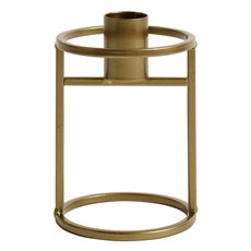 Metal Gold Candle Holder - Small