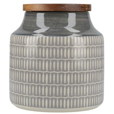 Drift Storage Jar - Grey