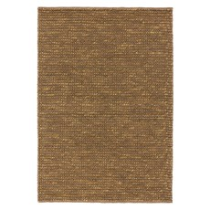 Jute Loop Rug - Brown