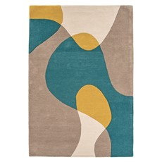 Matrix Rug - Arc Taupe