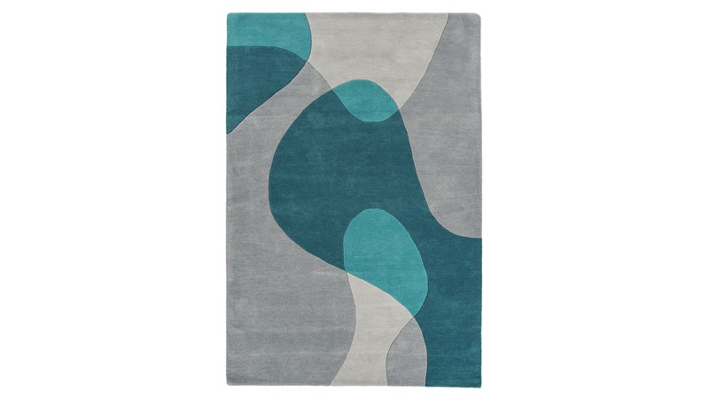 Matrix Rug - Arc Teal