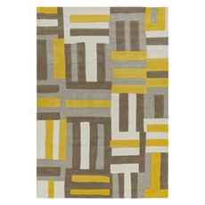 Matrix Rug - Code Yellow