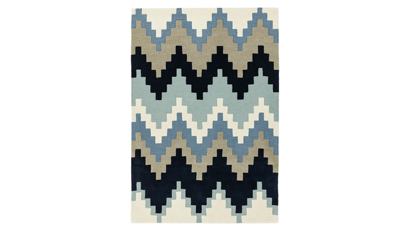 Matrix Rug - Cuzzo Blue