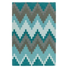 Matrix Rug - Cuzzo Teal