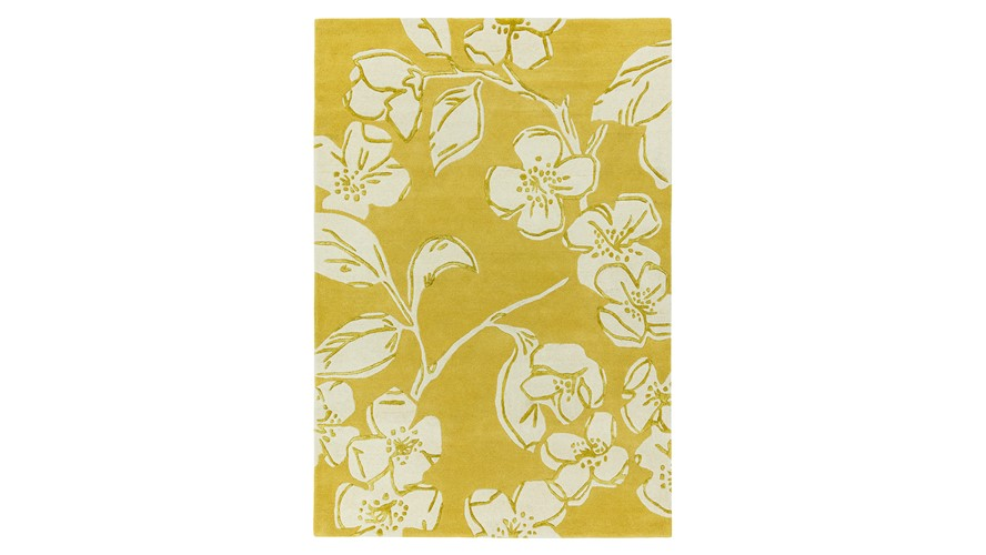 Matrix Rug - Devore Yellow