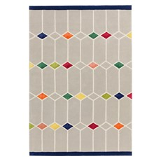 Matrix Rug - Jewel Grey