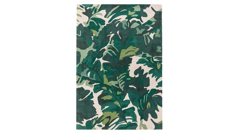 Matrix Rug - Palm Green