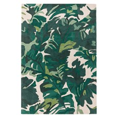 Matrix Rug - Palm Green