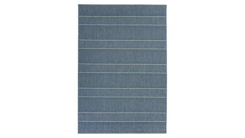 Patio Rug - Blue Stripe