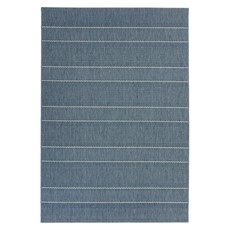Patio Rug - Blue Stripe