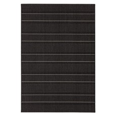 Patio Rug - Charcoal Stripe
