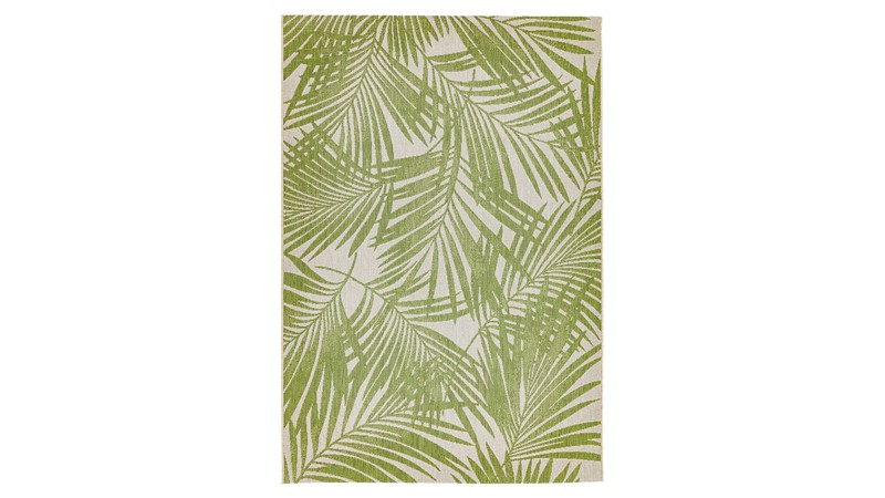 Patio Rug - Green Palm