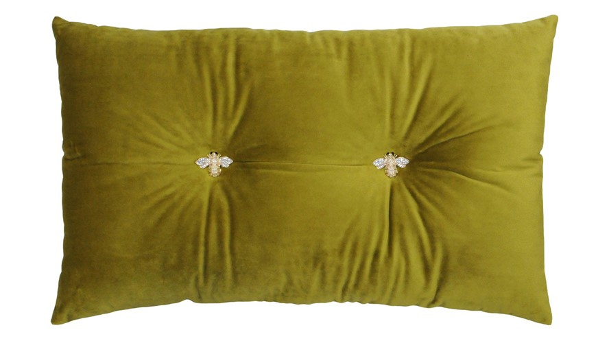 Bumble Cushion - Olive