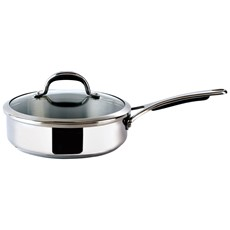 Prestige Select Stainless Steel 24cm Covered Saute Pan