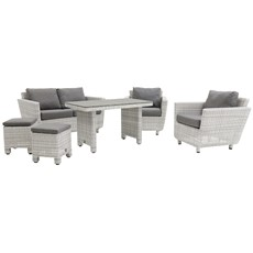 Rutland 2 Seater Sofa Garden Dining Set