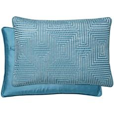 Peacock Blue Alinea Cushion - Peacock