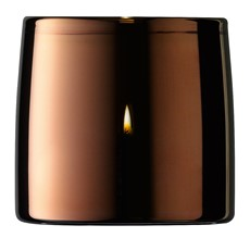LSA Light Tea Light Holder Metallic - Copper