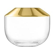 LSA 15cm Space Vase - Gold