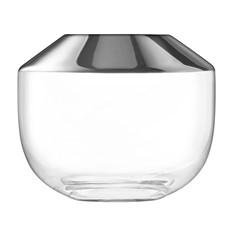 LSA 15cm Space Vase - Platinum