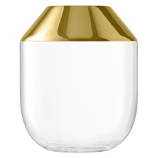 LSA 39cm Space Vase - Gold