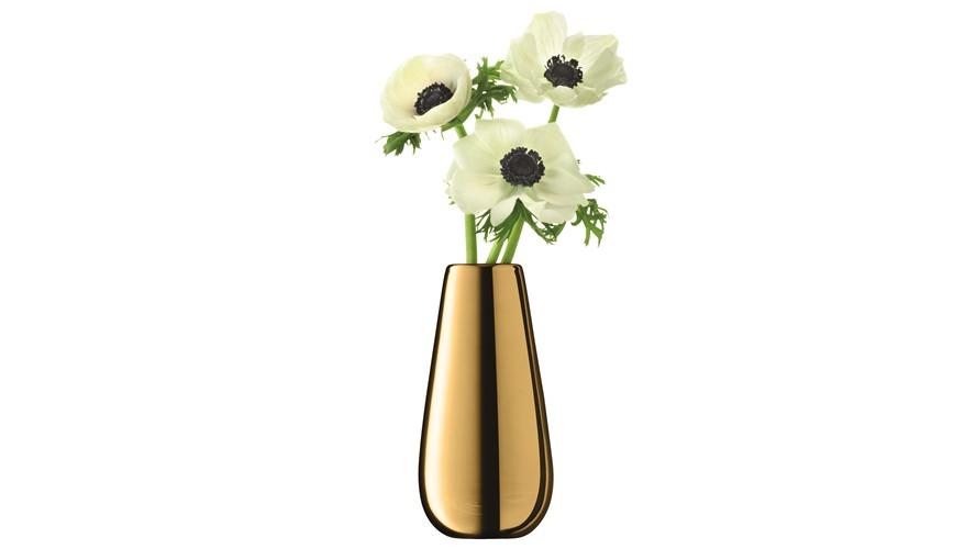 LSA Metallic Bud Vase - Gold