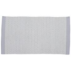 Monochrome 100% Wool Rug - Grey