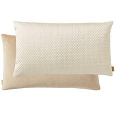 Kai Quilted Rectangular Cushion - Pearl