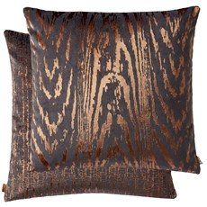 Kai Metallic Square Cushion - Copper