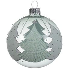 Christmas Tree Glass Bauble