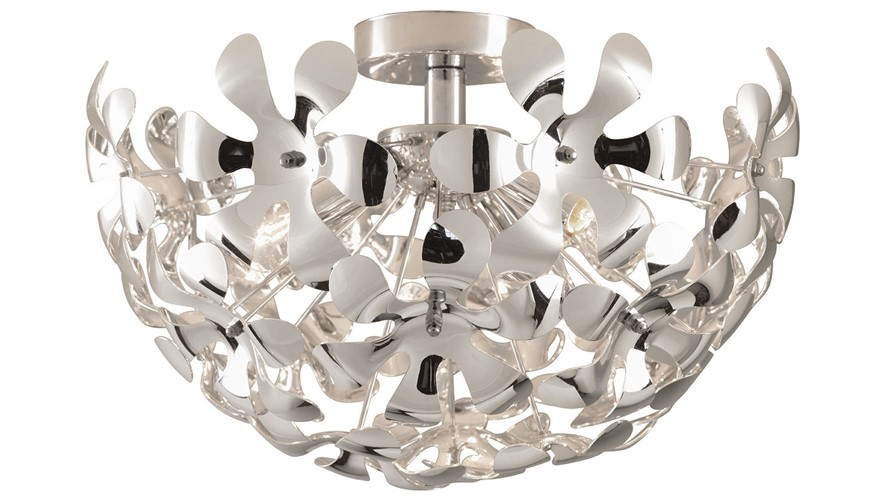 Loopal Ceiling Light Fitting - Chrome