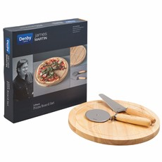 James Martin Pizza Board & Cutter