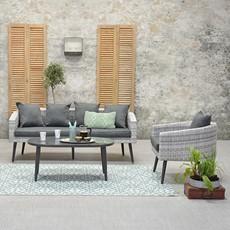 Martinique 3 Seater Sofa Garden Set