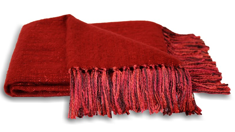 Chiltern Throw - Red