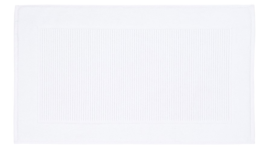 Christy Supreme Pedestal Mat - White