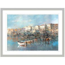 Croation Coast Framed Print