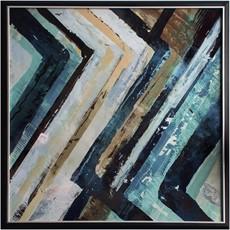 Blues Abstract Wall Art