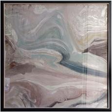 Crystal Fluid Abstract Wall Art