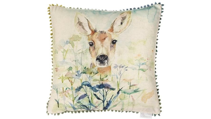 Voyage Fawn Square Cushion