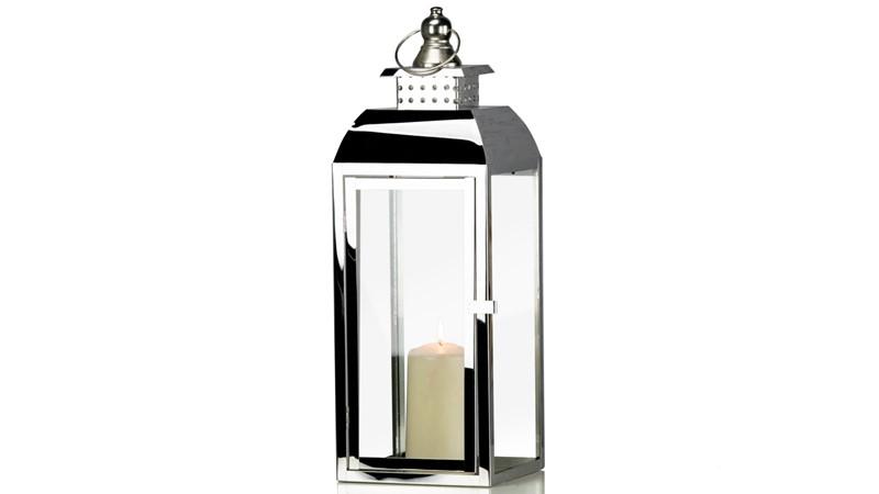 Lantern Tiffany Chrome
