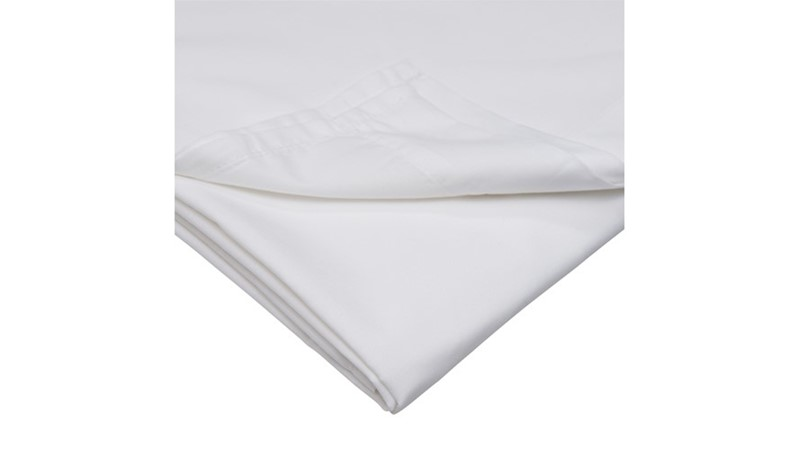 500 Thread Count Housewife Pillow Case Pair - White