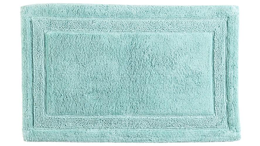 Christy Camden Bath Mat - Aqua