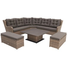 Savannah Corner Sofa Garden Set