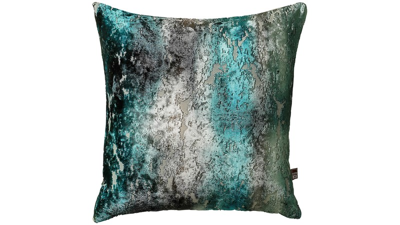 Luxor Square Cushion - Teal