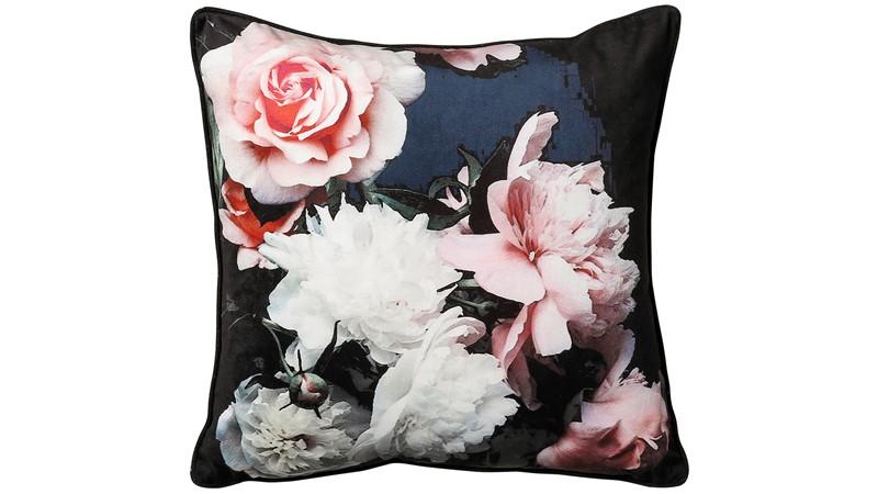 Isabella Square Cushion - Black