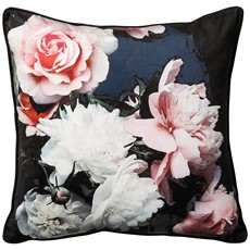 Isabella Square Cushion - Black