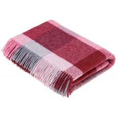 Bronte Rome Throw - Pink Aqua