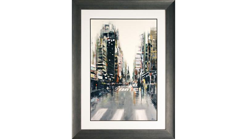 La Ville Framed Print