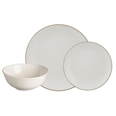 Mason Cash Classic Collection 12 Piece Dinner Set - Cream