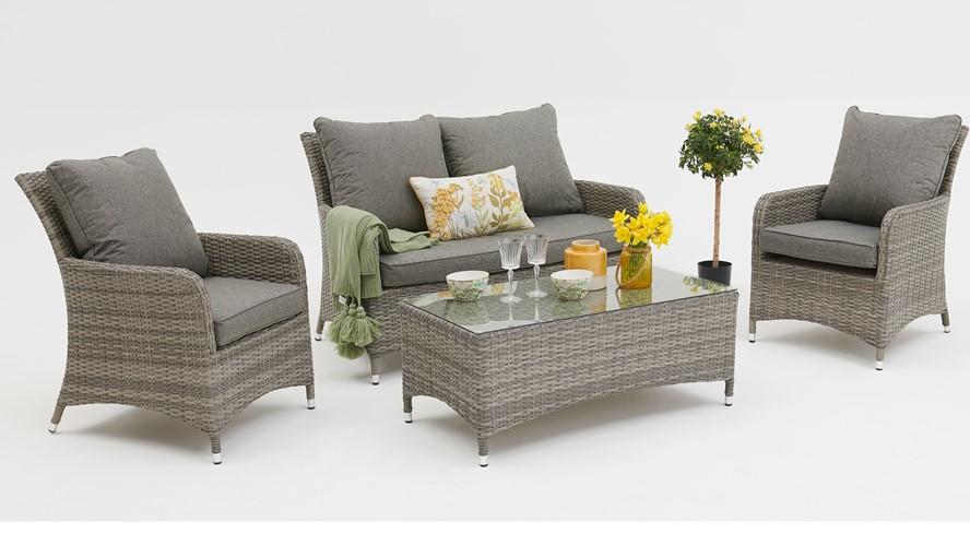 Honduras 2 Seater Sofa Garden Set
