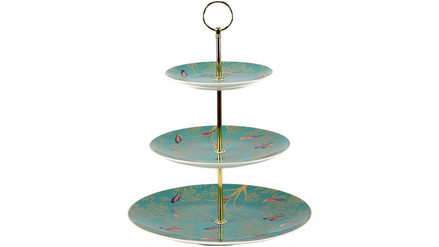 Sara Miller Chelsea 3 Tier Cake Stand
